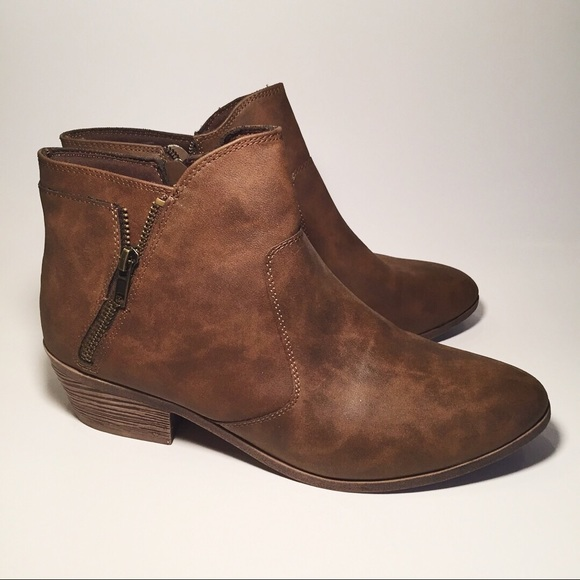 faded glory ankle boots